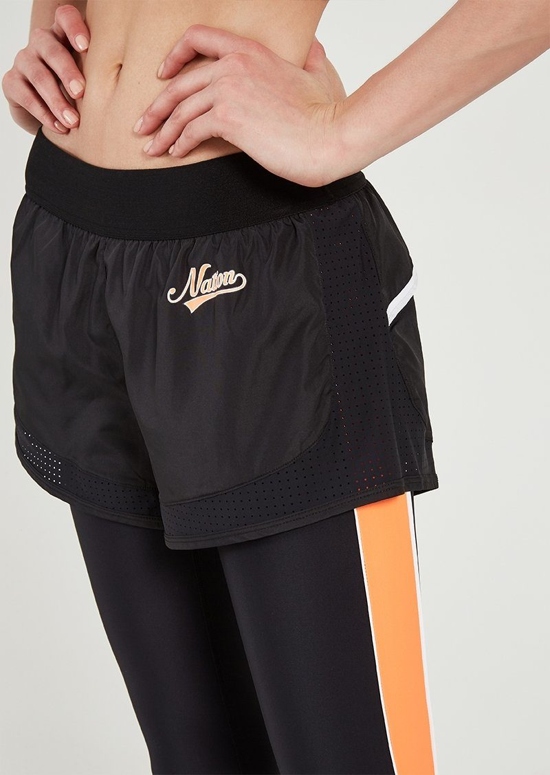 P.E NATION | Long Lift Legging + Shorts - Black