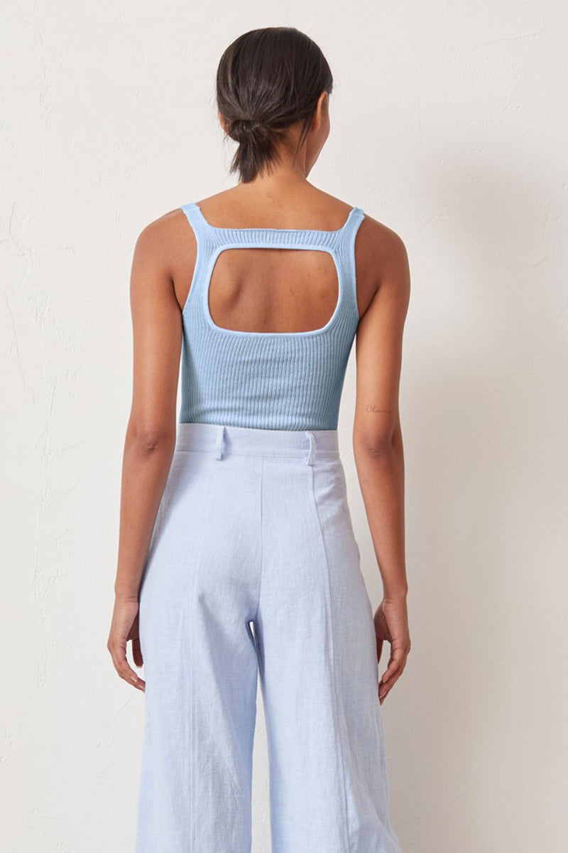 BEC + BRIDGE | Riviera Knit Bodysuit - Sky