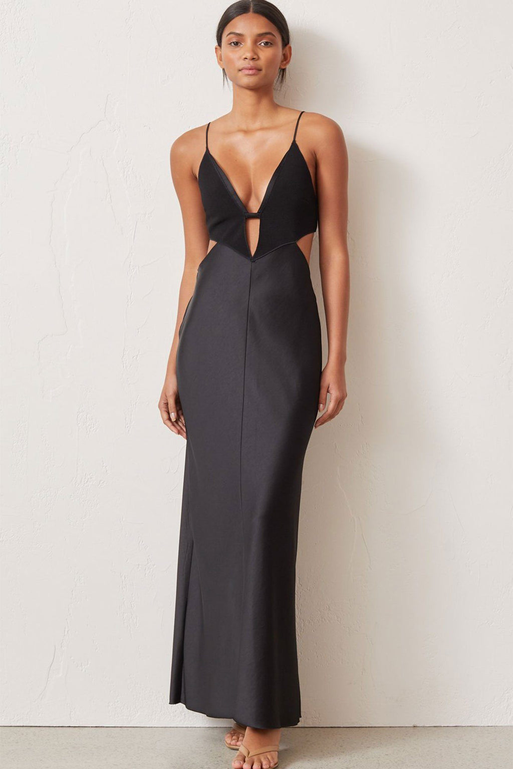 BEC + BRIDGE | Seraphine Plunge Dress - Black
