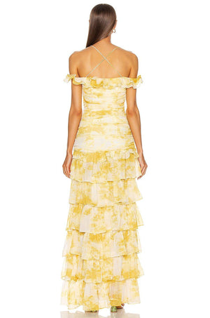ATOIR | Back to Love Dress - Gold Amber