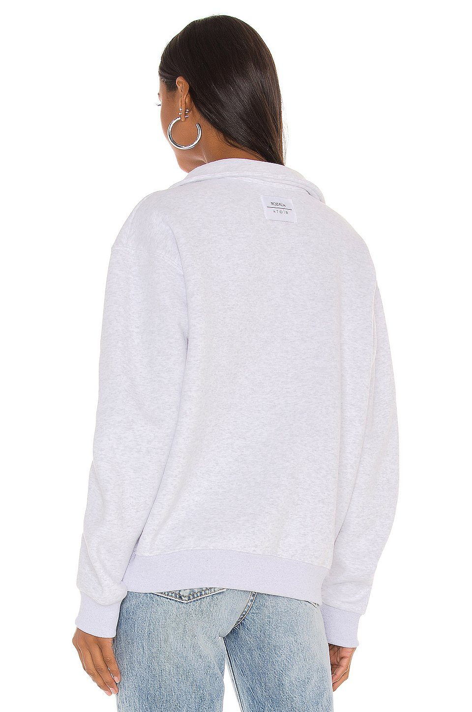 ATOIR | Collared Jumper - Grey Marled