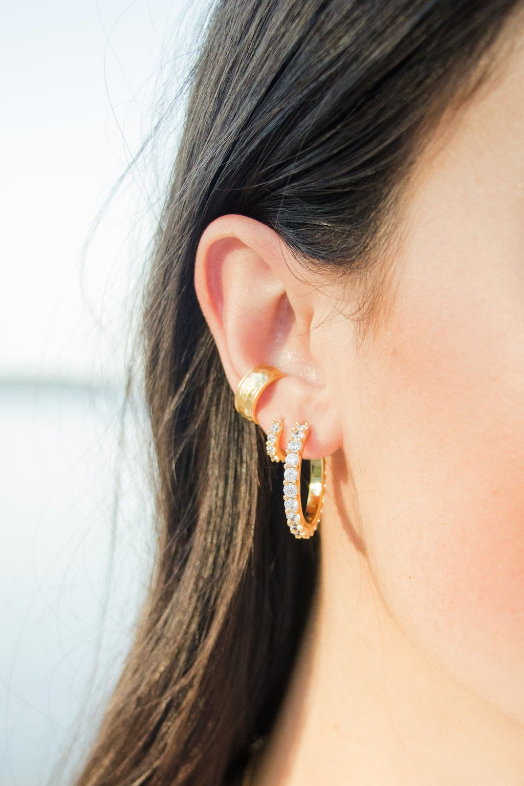 ASHLEY CHILDERS | Bonnie Hoop Earrings