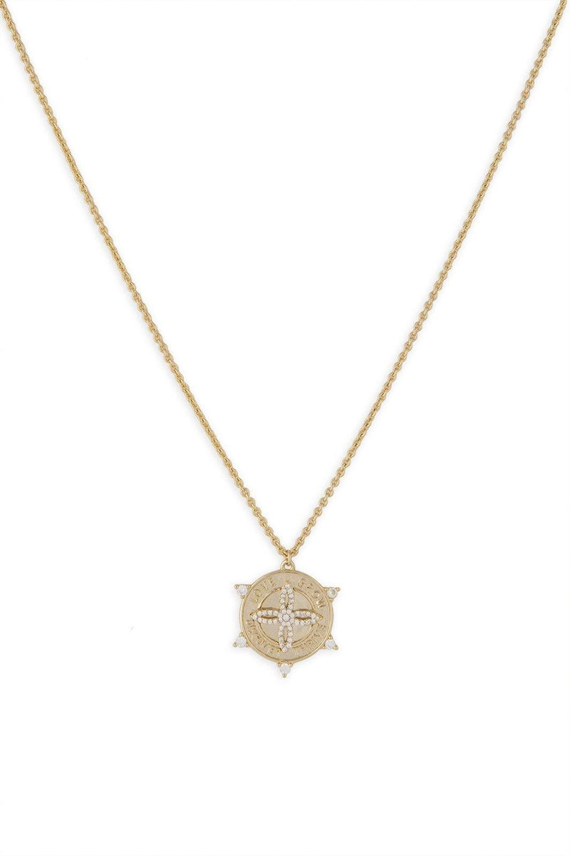 ASHLEY CHILDERS | Thrive Coin Necklace - Gold
