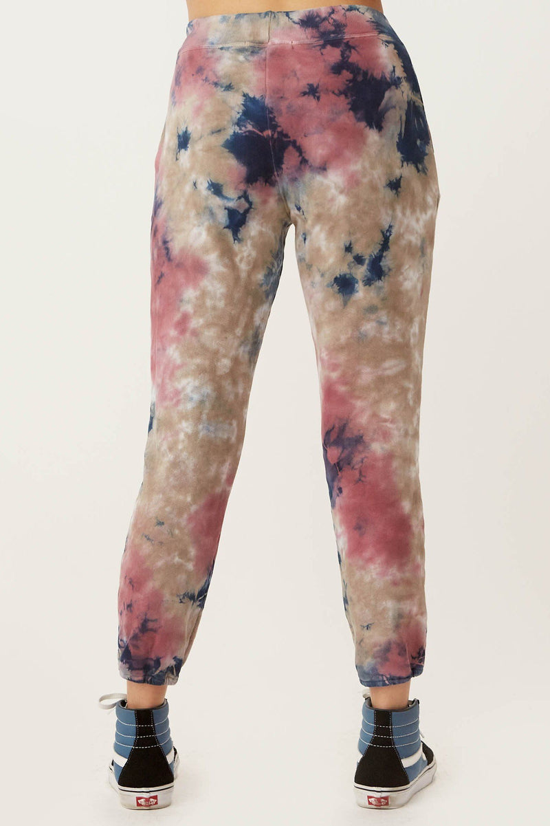 DAYDREAMER | Rouge Storm Tie Dye Jogger