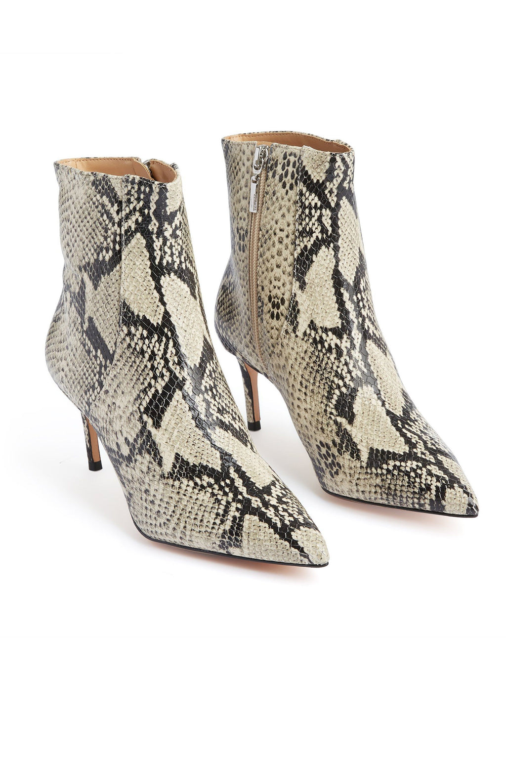 SCHUTZ | Bette Bootie - Natural Snake