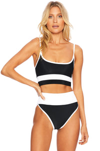 BEACH RIOT | Eva Top - Black/White