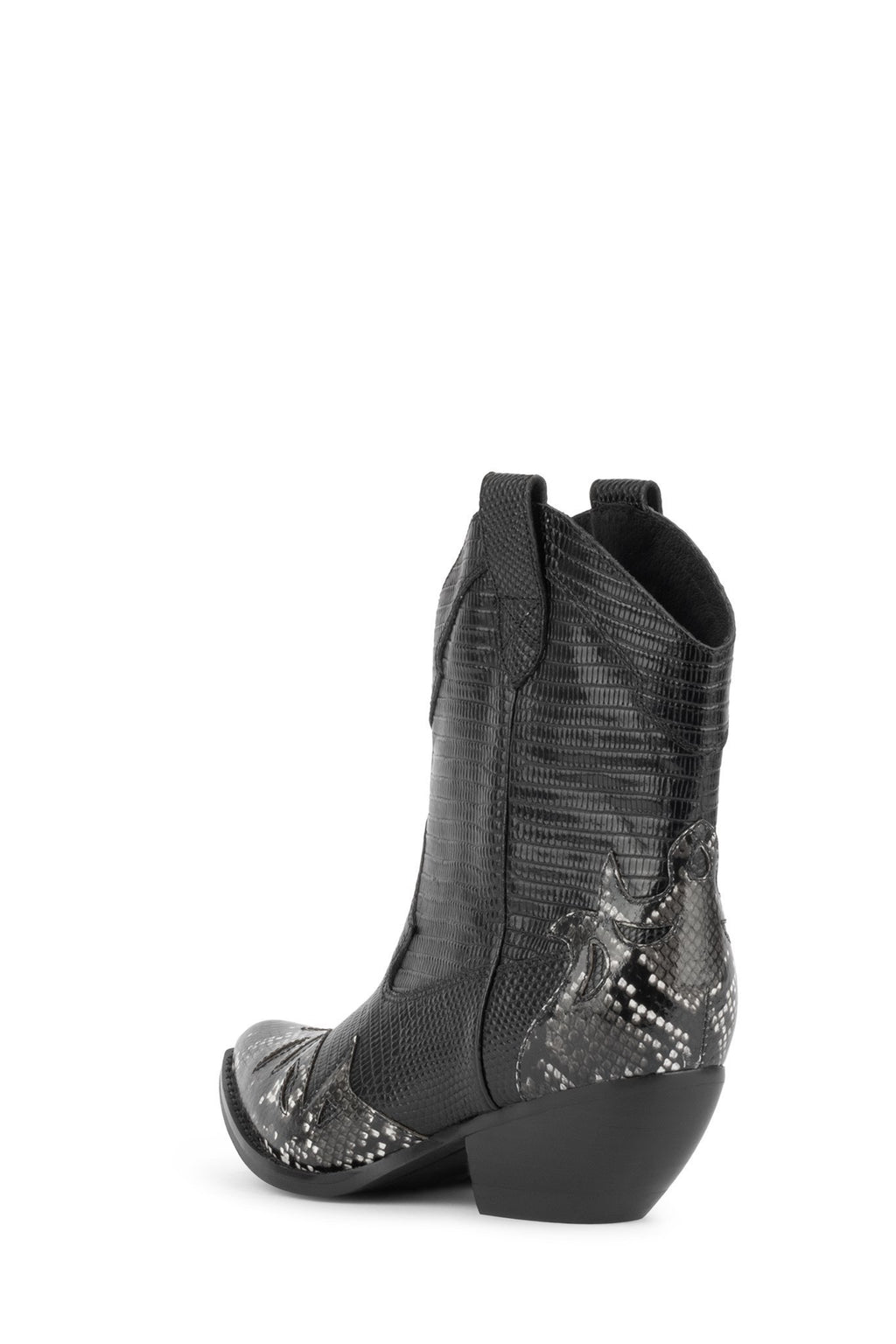 JEFFREY CAMPBELL | Calvera Boot Black Snake/ Lizard