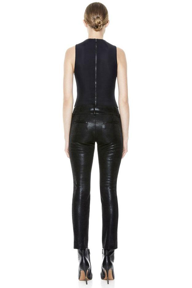 ALICE + OLIVIA | Stacey Vegan Leather Pant