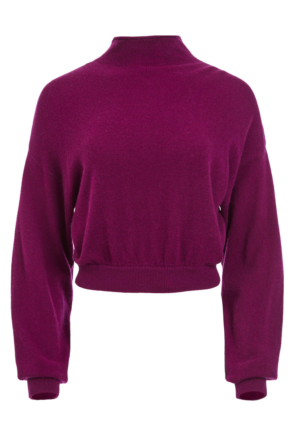 ALICE + OLIVIA | Caprice Drop Shoulder Sweater - Boysenberry