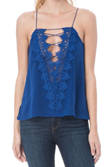 CAMI NYC | Charlie Tank - Azure