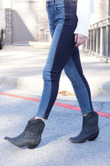 JEFFREY CAMPBELL | Calvera Boot - Black Washed