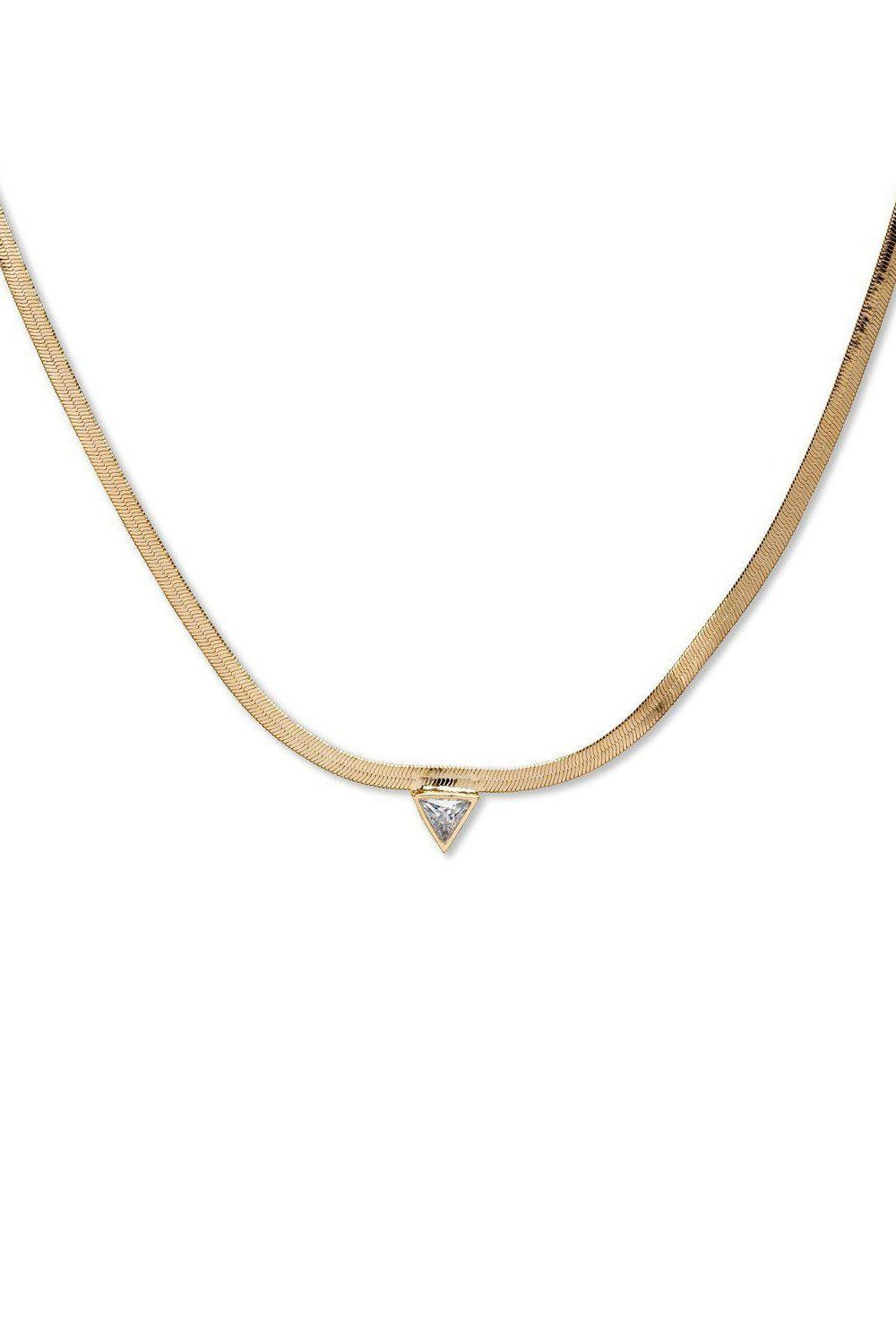 BRACHA | High Point Snake Chain Necklace