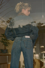 THE KOOPLES | Mom Jeans in Vintage Denim