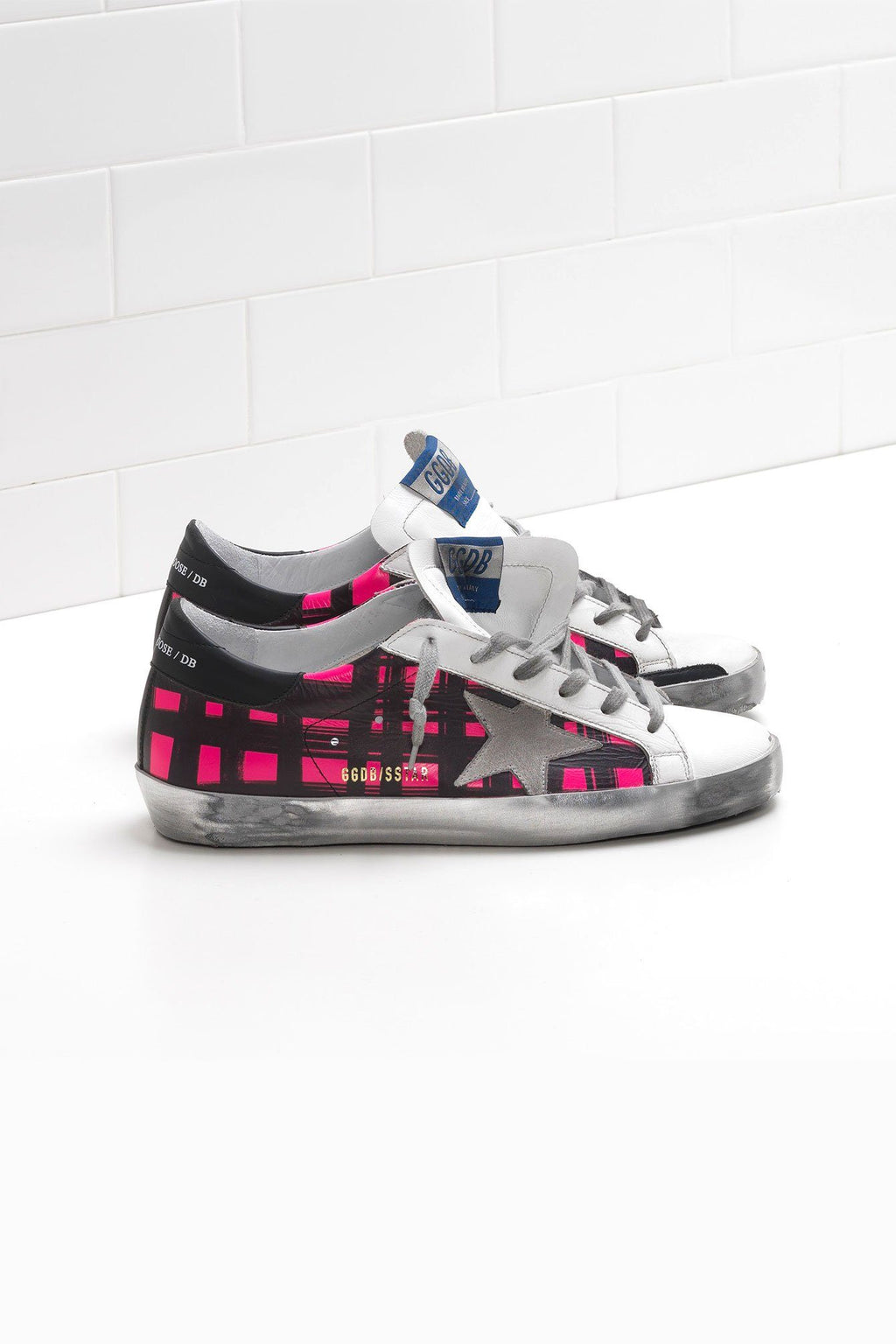 GOLDEN GOOSE | Fuxio Check Superstar