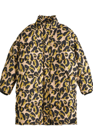 SCOTCH & SODA | Printed Leopard Winter Puffer