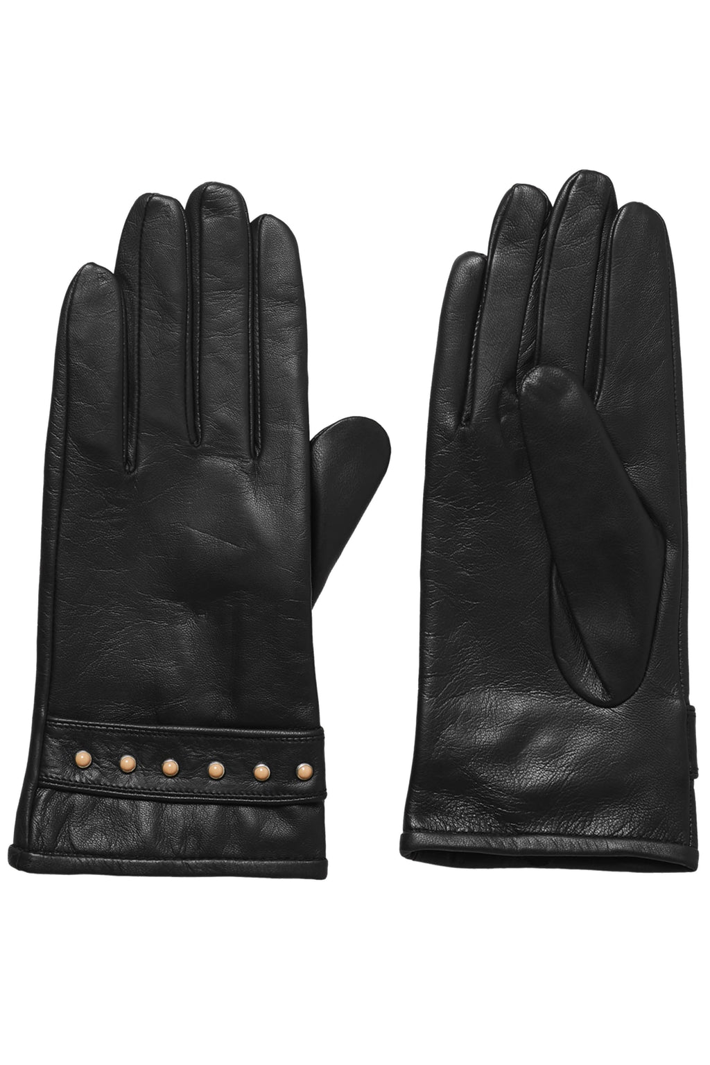 SCOTCH & SODA | Leather Glove + Blush Rivets