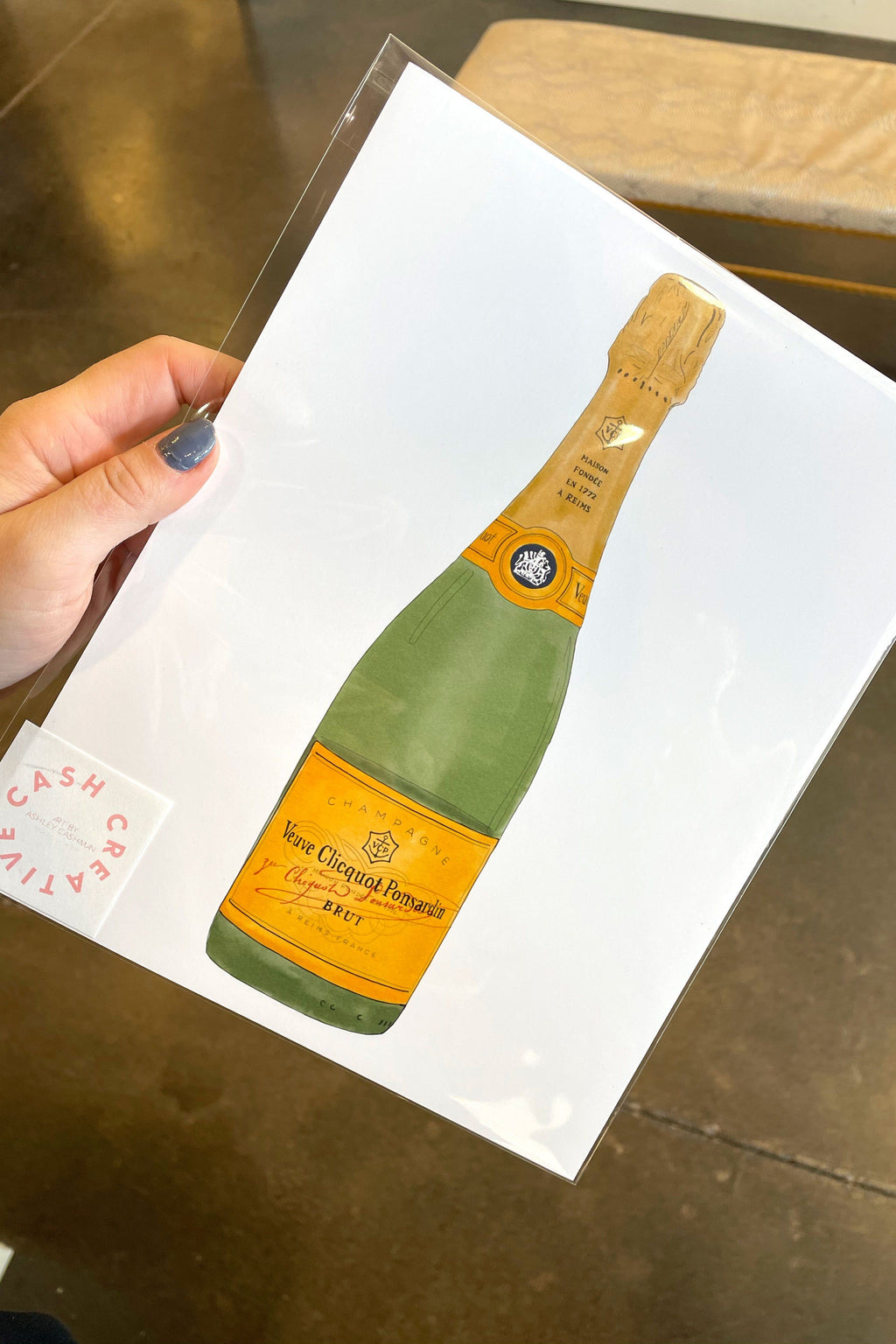 CASH CREATIVE | Veuve Bar Art