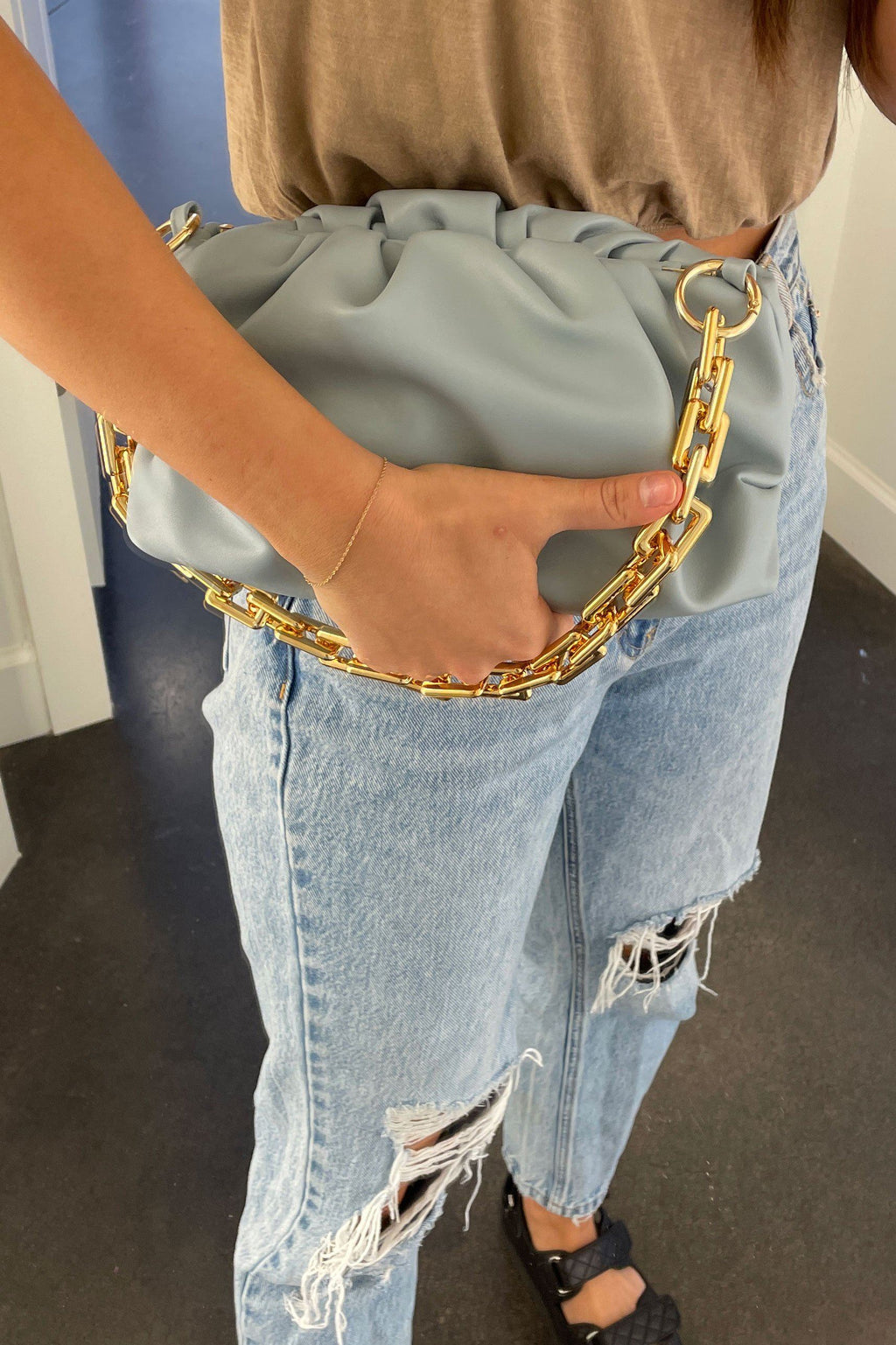 Linked Up Slouch Bags