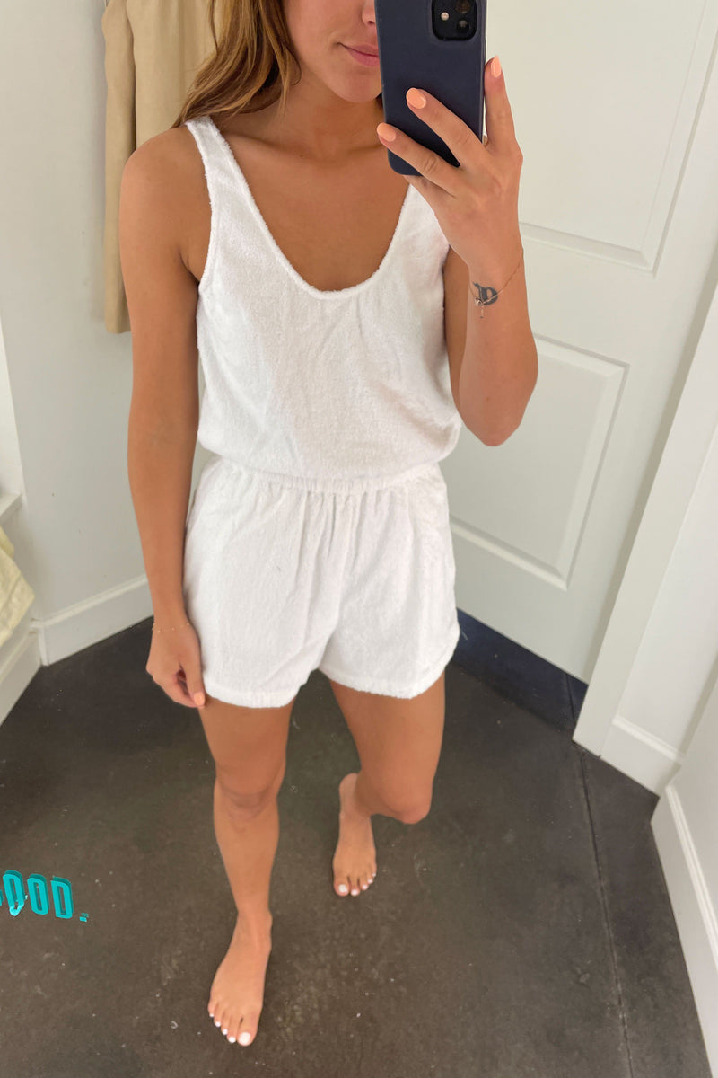 ATOIR | Juliet Playsuit - White