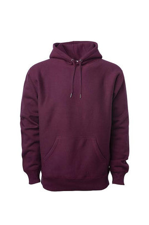 Ready and Relaxed Heavyweight Hoodie - Moroon