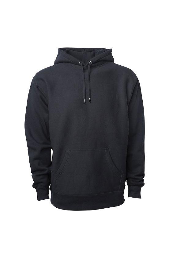 Ready and Relaxed Heavyweight Hoodie - Black