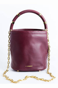 J. LOWERY | Max Mini Bucket Bag - Burgundy
