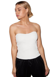 LNA | Chunky Rib Tube Top