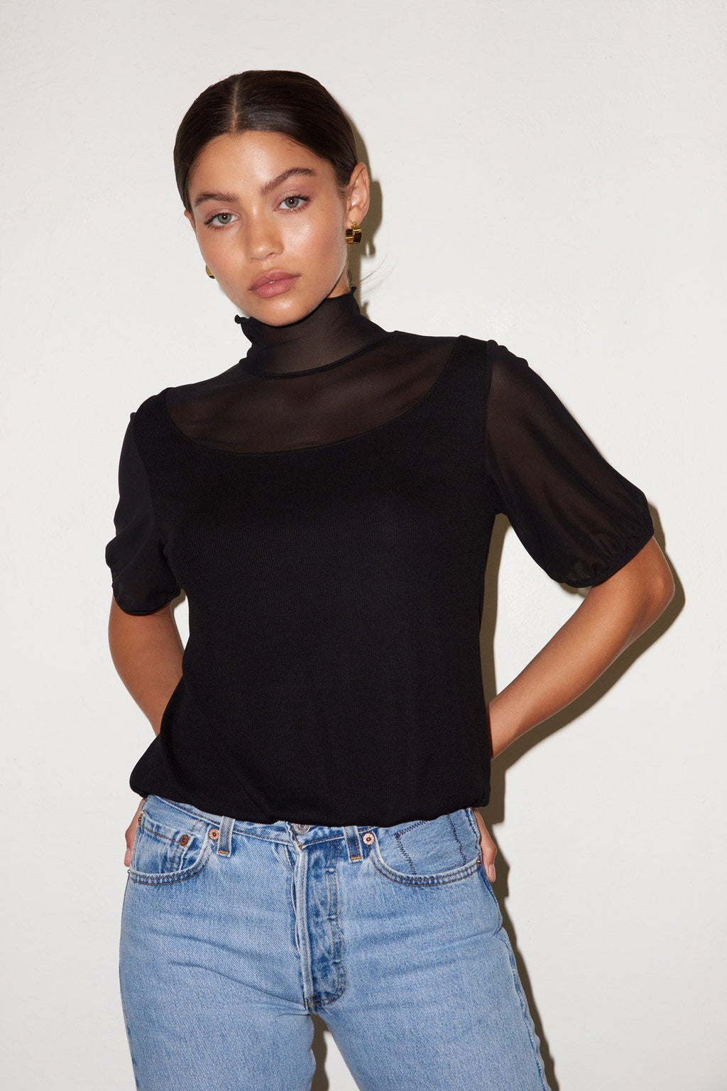 LNA | Lua Top - Black