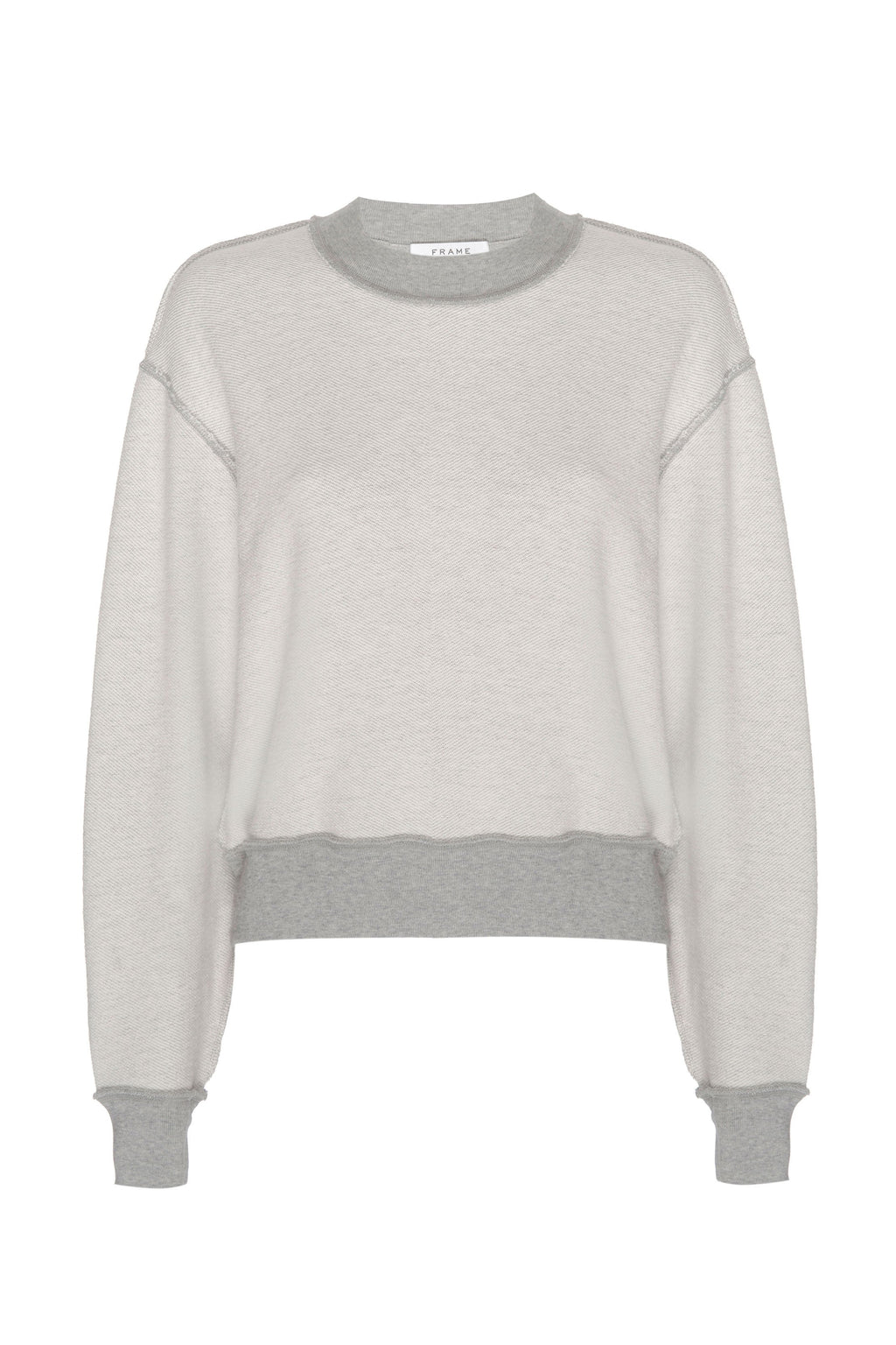 FRAME | Inverse Easy Sweatshirt - Gris Heather