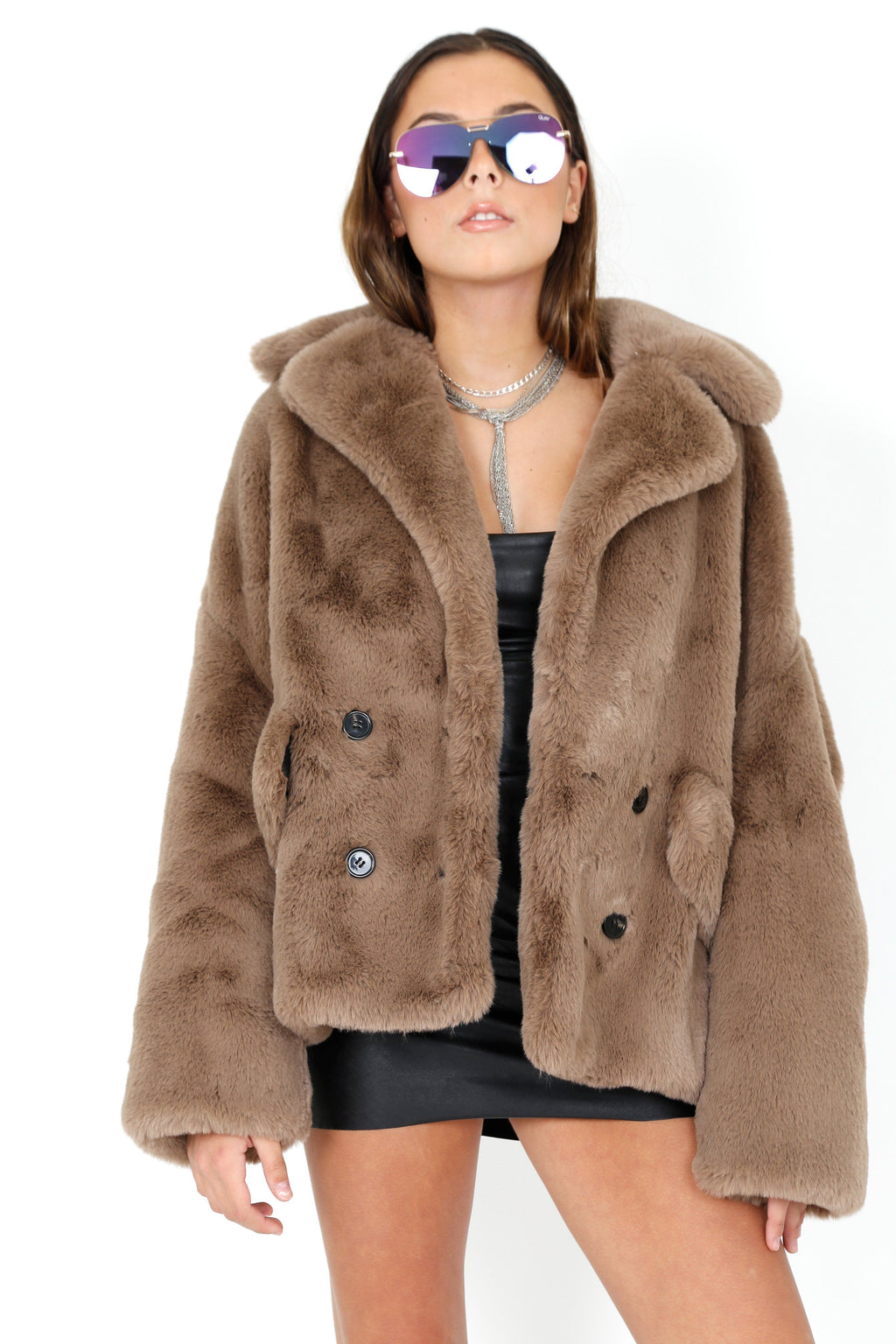 KOOPLES | Teddy Faux Fur Coat