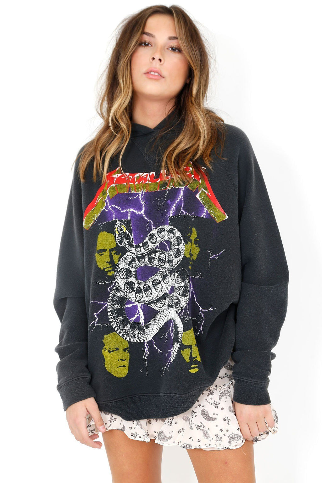 MADEWORN | Metallica World Tour Oversized Hoodie