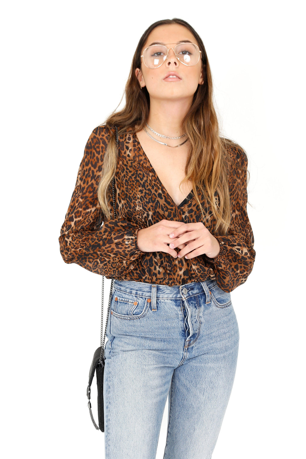 CAMI NYC | Paula Bodysuit - Silk Animal