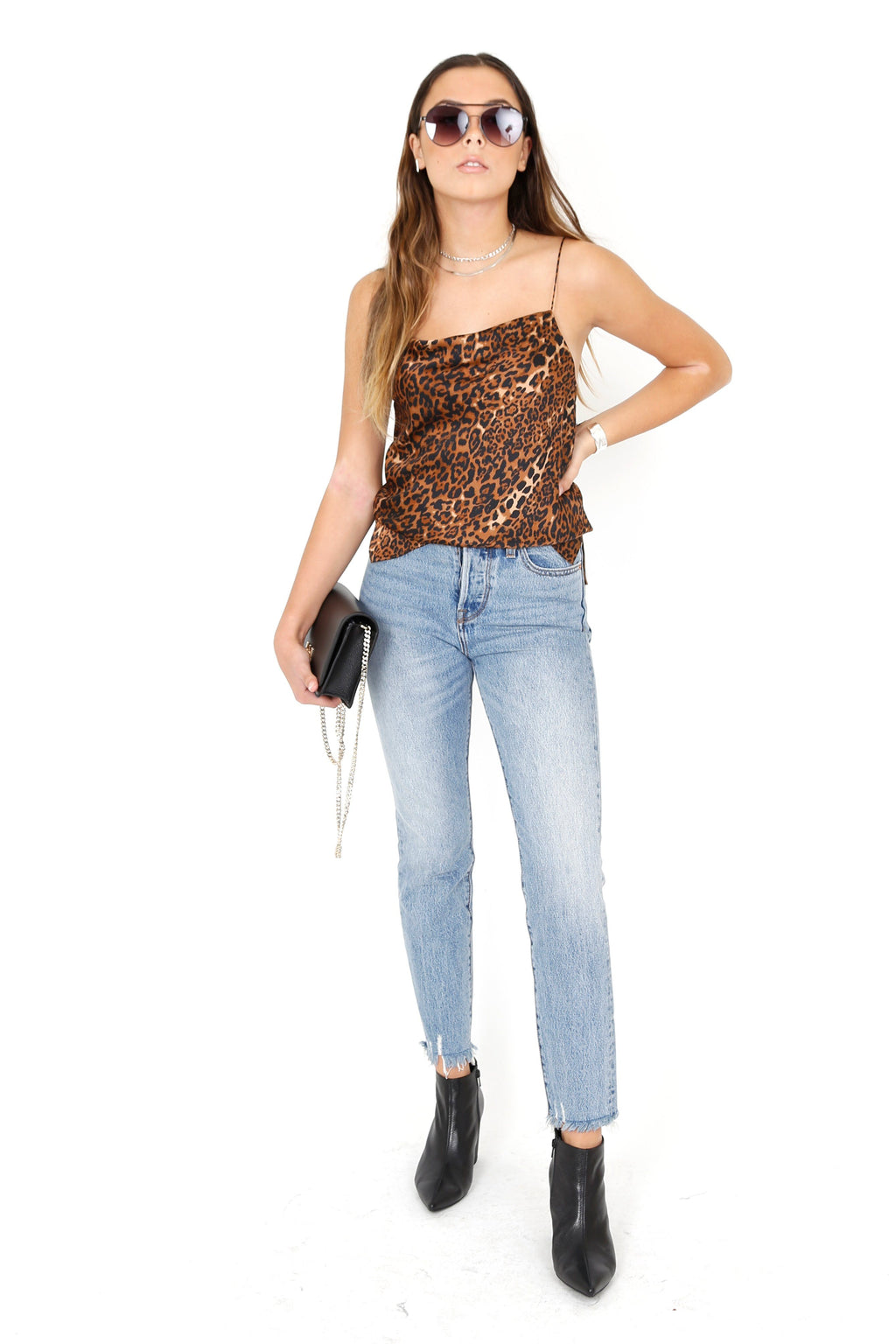 CAMI NYC | Axel Silk Camisole - Animal
