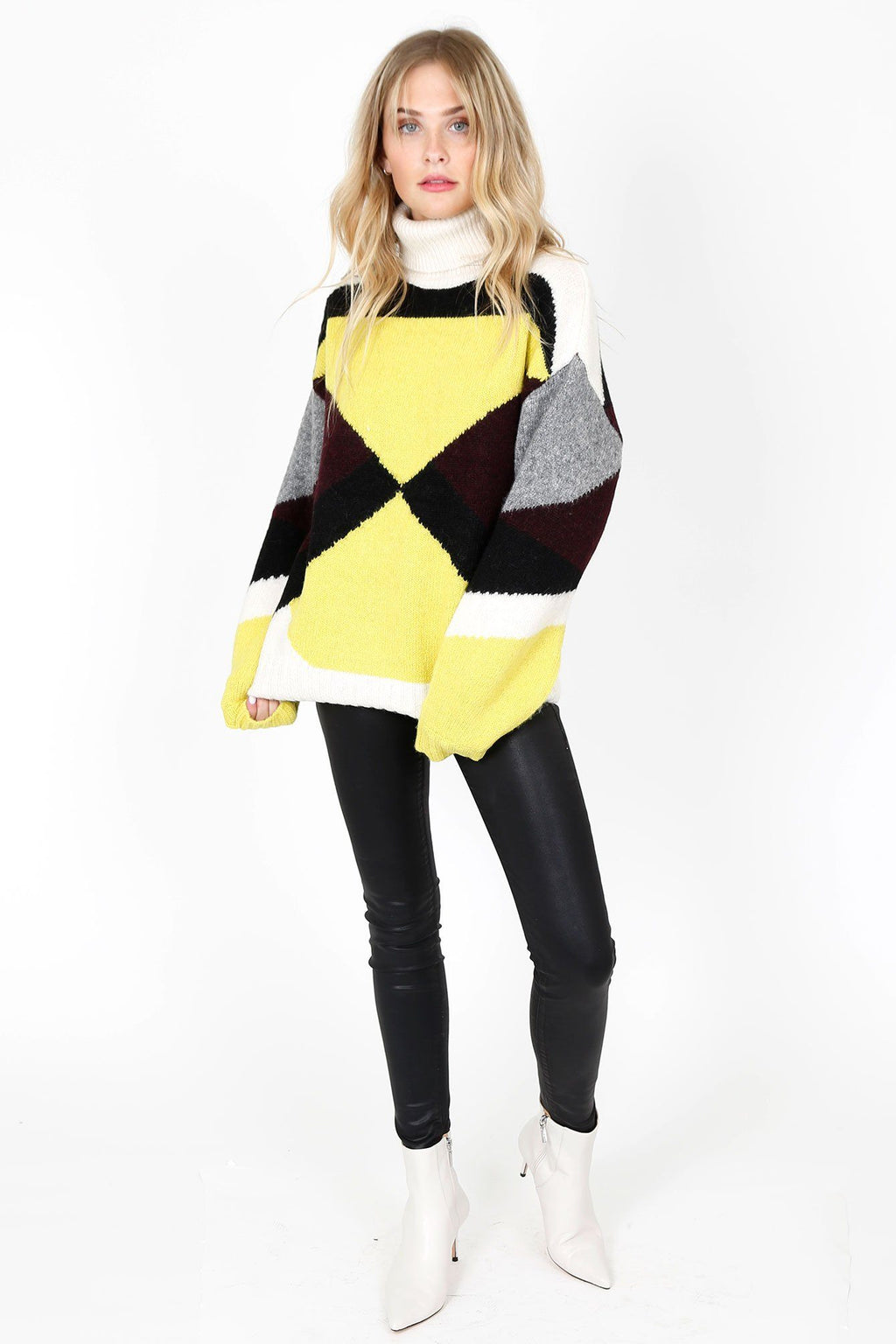 A.L.C. | Angelou Sweater - Bordeau Citron