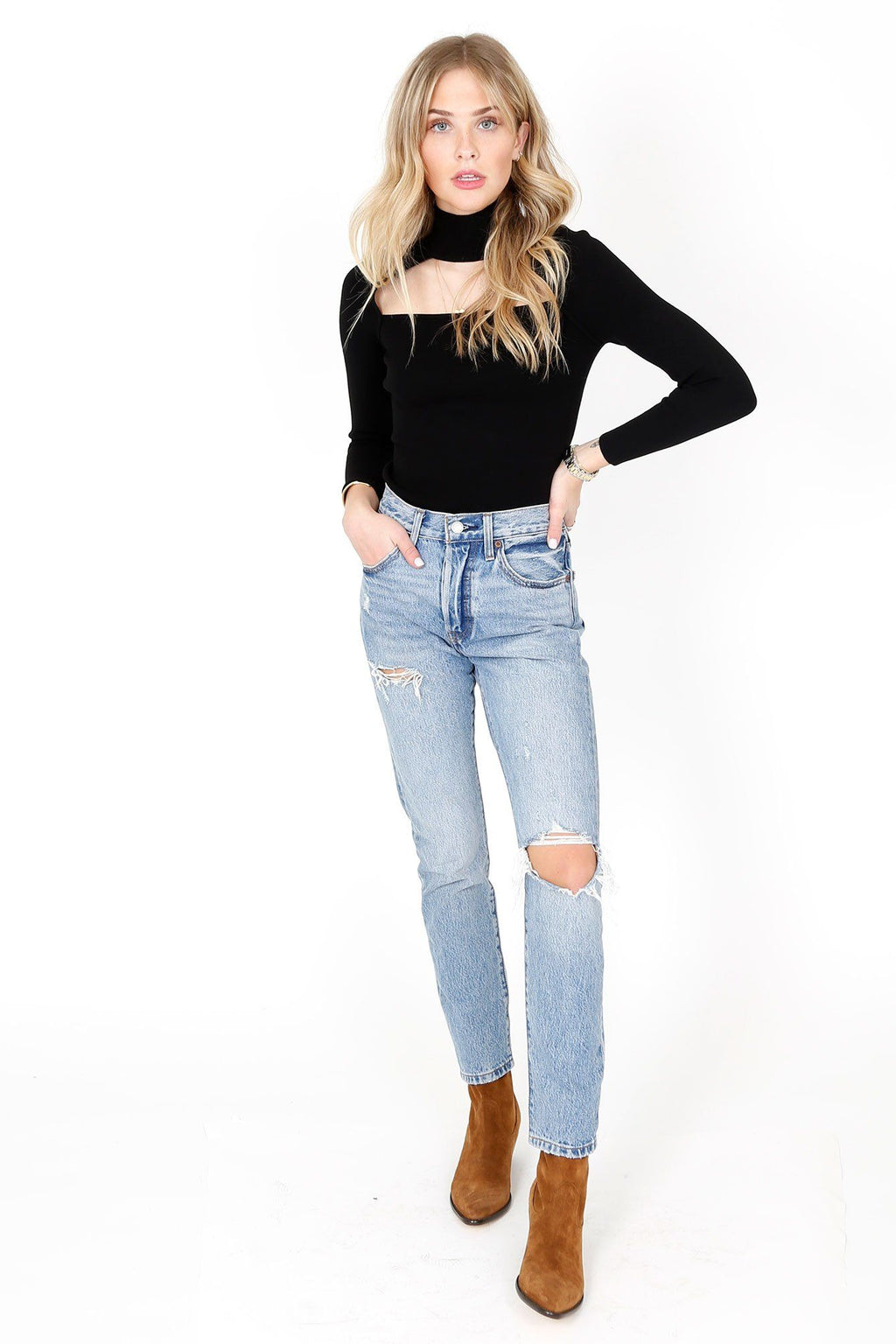 A.L.C. | Brianne Top - Black