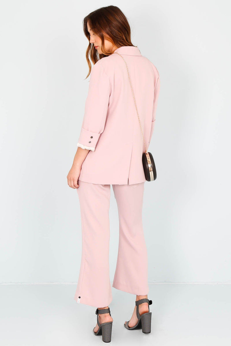 ONE TEASPOON | Pixie Cropped Pant - Pink