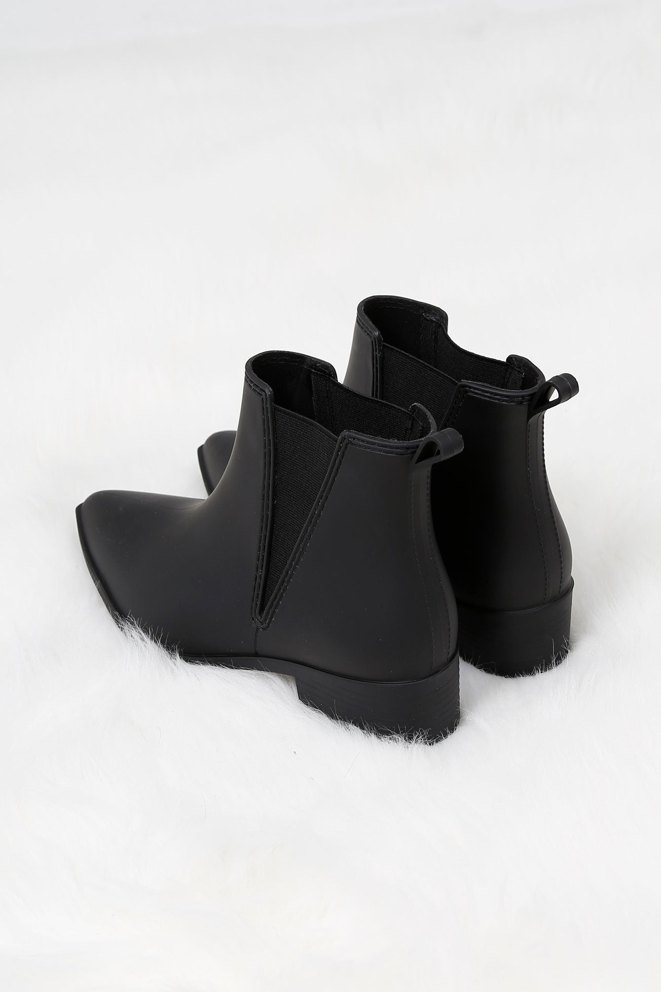 JEFFREY CAMPBELL | Mist Rainboot - Black