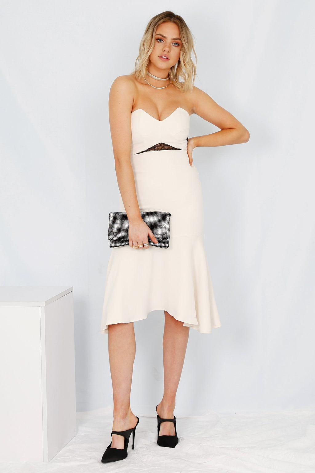KARINA GRIMALDI | Devon Dress - Cream