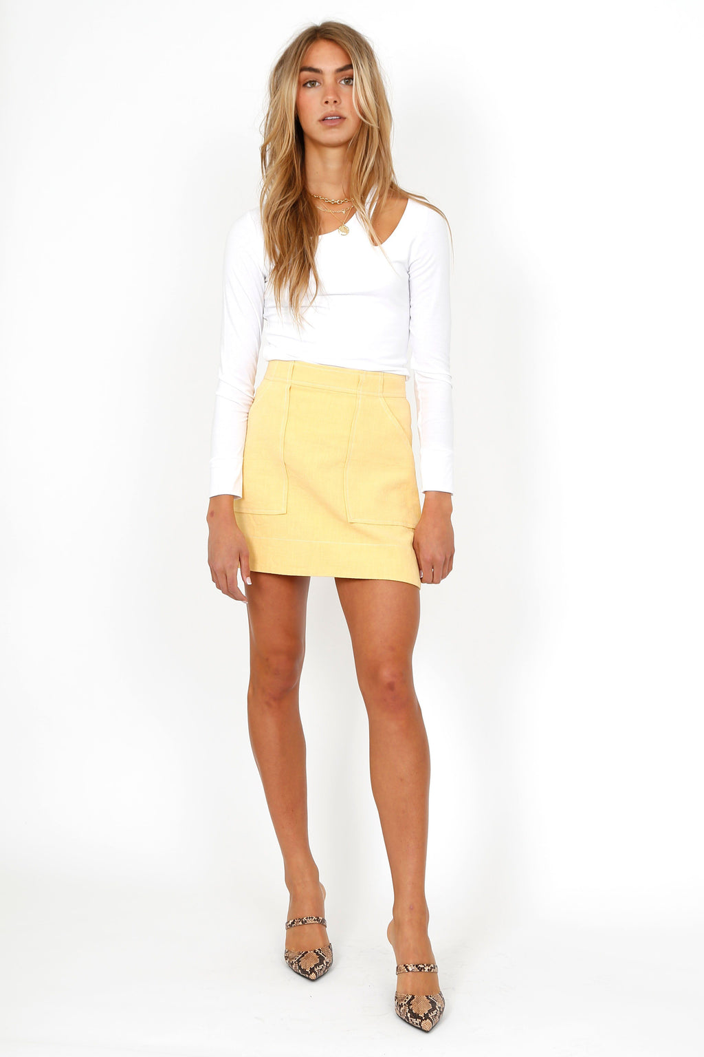 BEC + BRIDGE | Oliver Mini Skirt - Honey