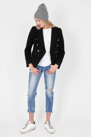 7aa0c6117b BLAQUE LABEL | Wool Blazer - Black