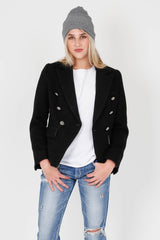 BLAQUE LABEL |  Wool Blazer - Black