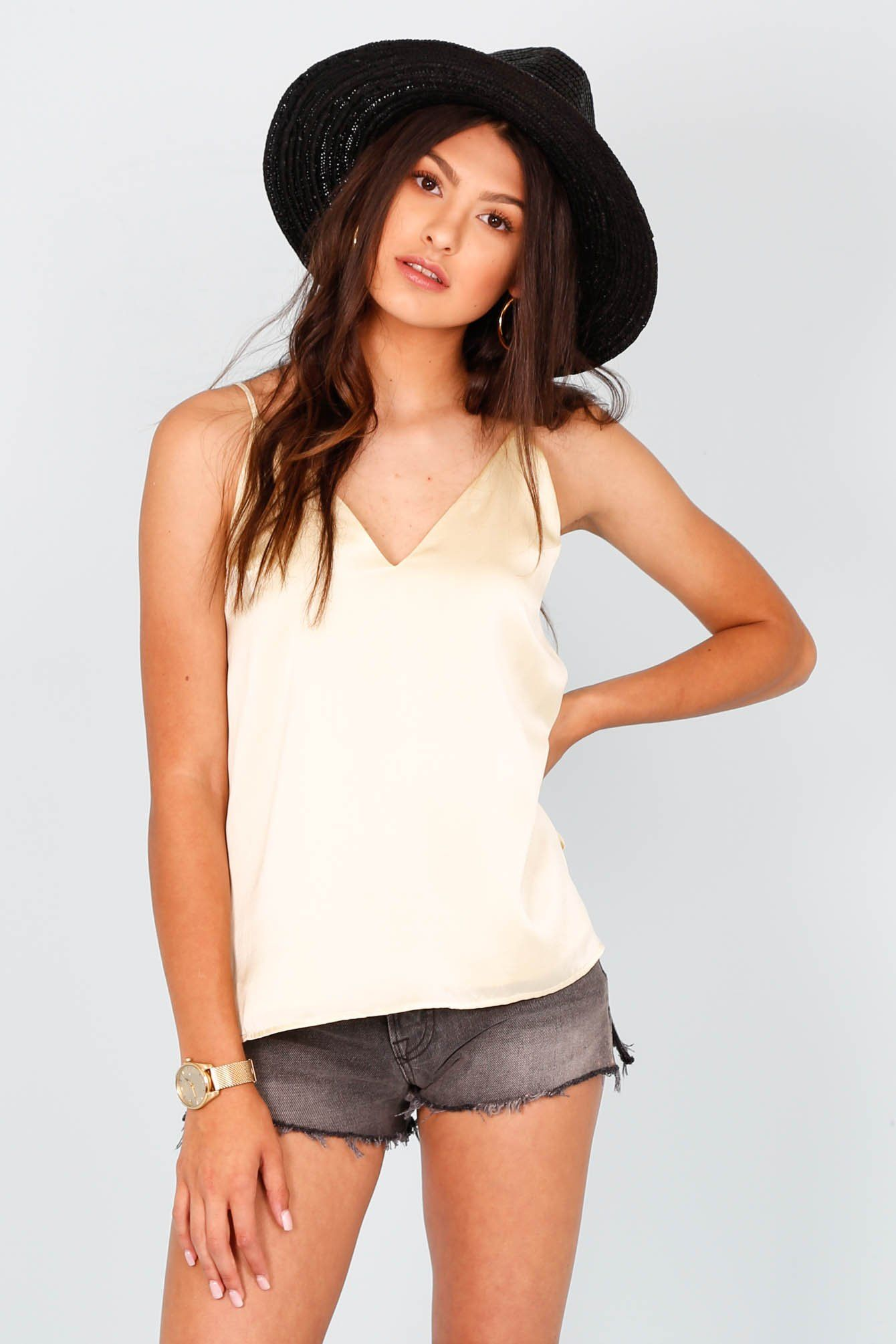 CAMI NYC | Olivia Tank - Butter