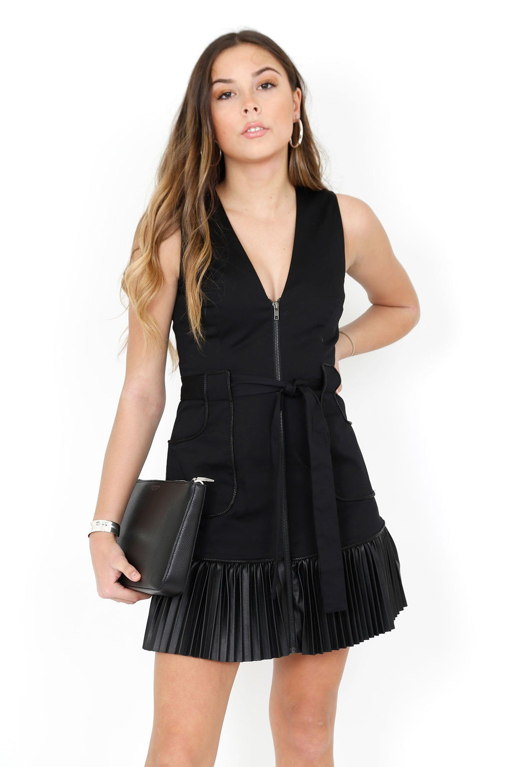 ALEXIS | Kelsie Dress - Black