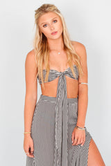 Breezy Beach Tube Top - Stripe
