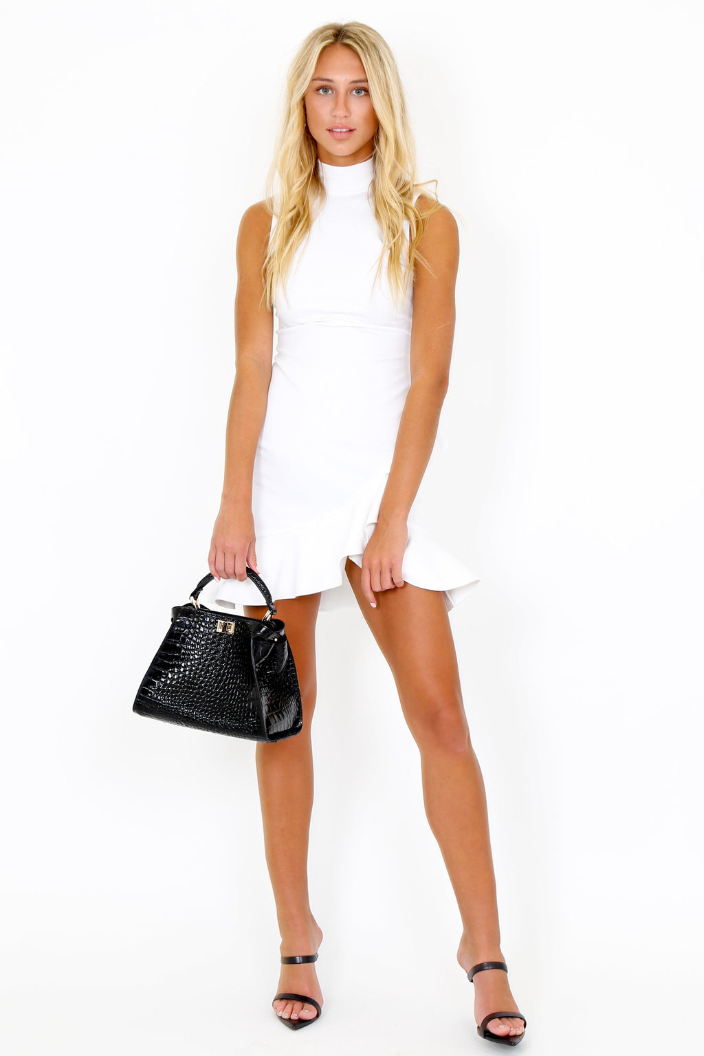 ALEXIS | Giya Short Dress - White