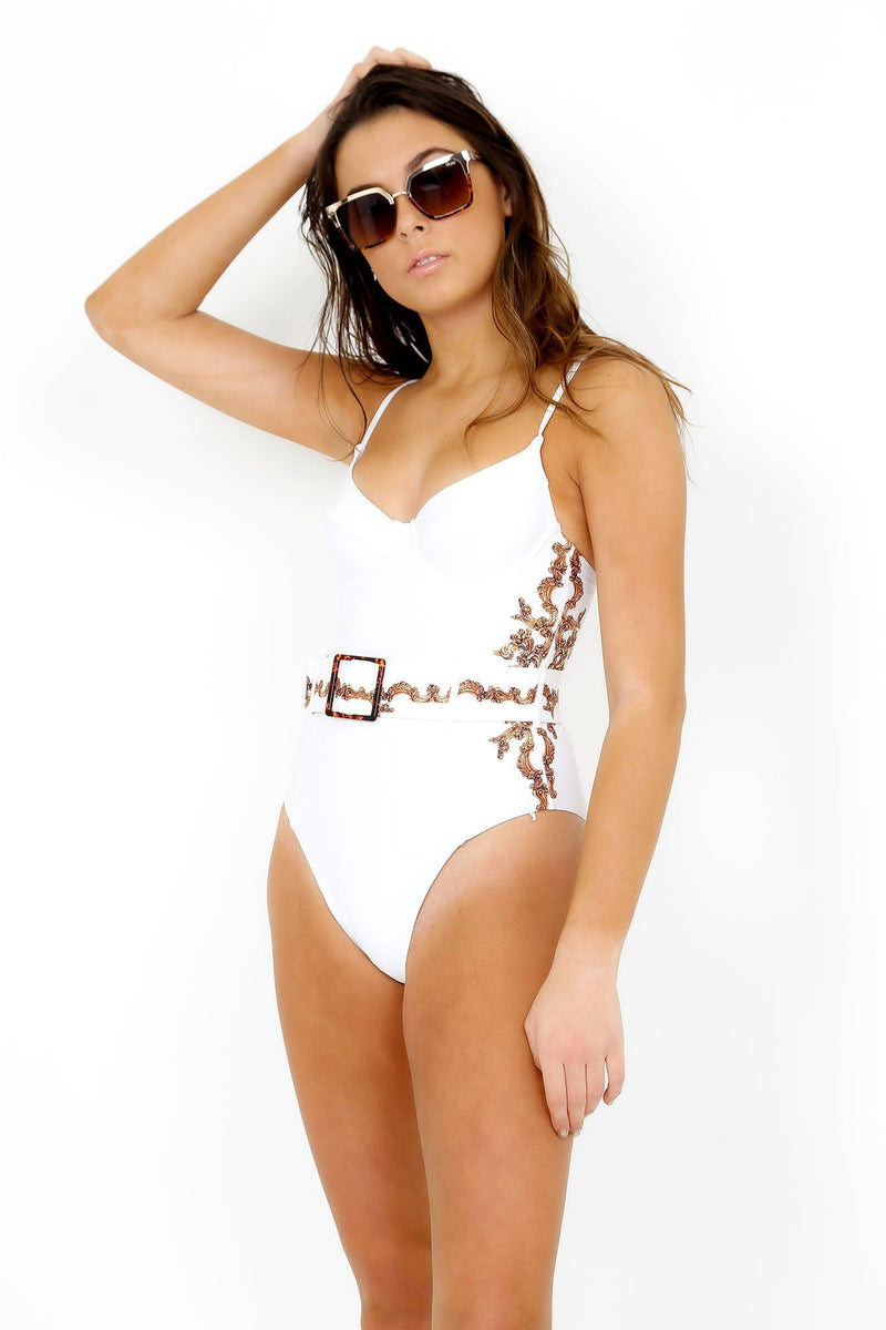 WE WORE WHAT | Danielle One Piece - Baroque