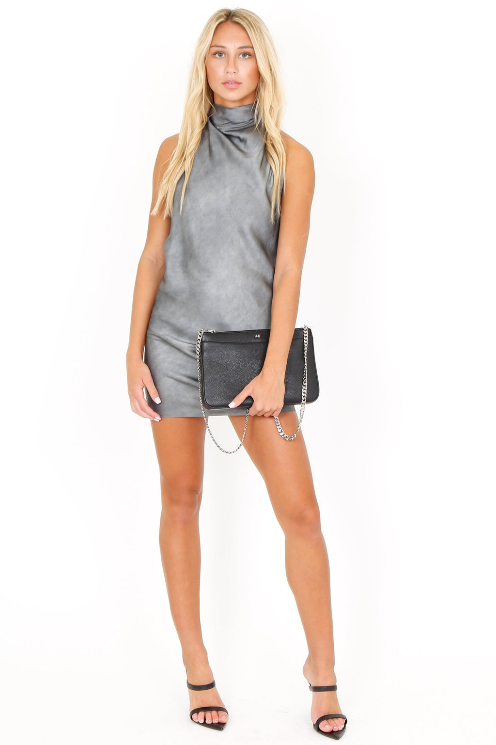 RTA | Abella Midi Corset Dress - Cement