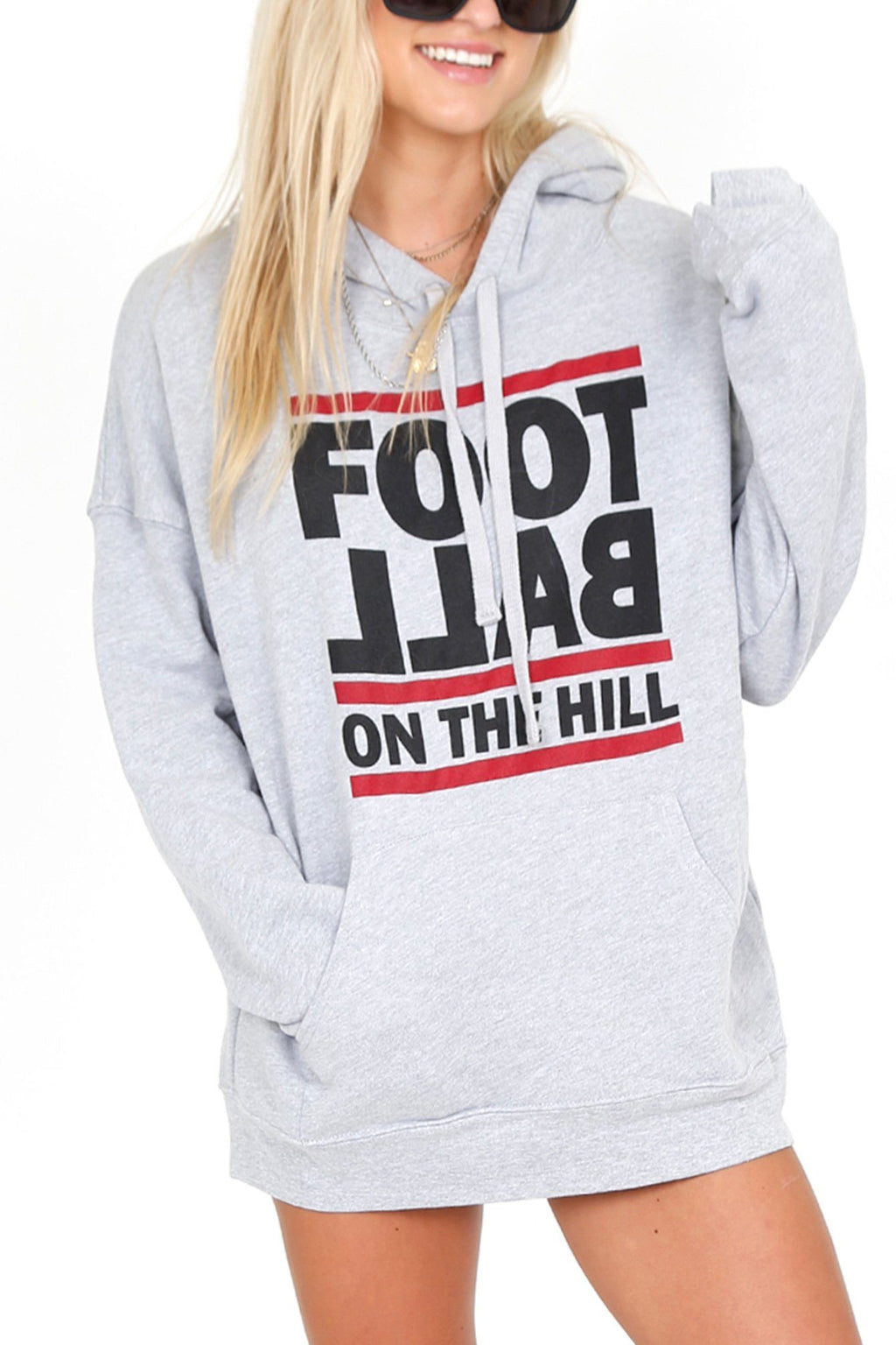 FOOTBALL On The Hill Sweatshirt