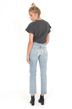 TRAVE DENIM | Constance Straight Taper - Slow Ride