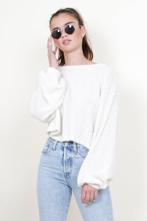 Cream of the Crop Sweater